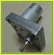 WT76VF55 High torque flat gear motor 24 volt small electric dc gear motor