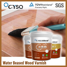 non toxic acrylic water based lacquer paint coating for bamboo , color wood varnish