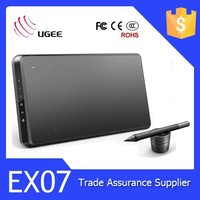 Ugee EX07 Graphic tablet Great Performance Drawing Tablet PC 8x5 inch kids Drawing Tablet