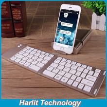 Portable Foldable Bluetooth Keyboard For Galaxy S6, Ultra-slim Mini Keyboard for Smart Phone