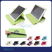 Wholesale lychee grain leather 360 degree rotate custom for iPad 3 case