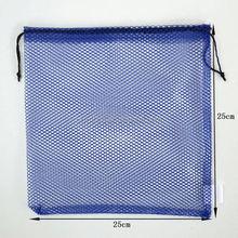 Durable mesh golf balls bag with drawstring /small drawstring mesh bag/ustomized size mesh bags with string