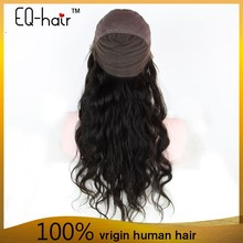 Premium quality 10-30inch glueless hair wigs for men price Brazilian human hair full lace wig