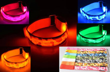 Commercial halloween decorations Led wrist bands for sports running party concert