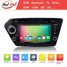 2015 Most Popular Car DVD Player For Kia Quad-core Car Stereo For Kia K2