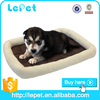 good dog accessories for Christmas gifts,comfortable short plush dog bed with PP cotton