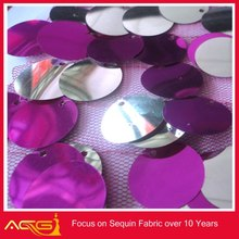 RAIN DROP SEQUIN TAFFETA FABRIC 100% polyester Wholesale brand name decorations