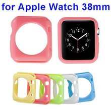 Newest Solid Color Soft TPU Case for Apple Watch 38mm