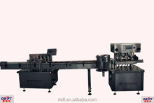 Shanghai Deft Automatic Essential oil arranging,filling,capping,labeling production line