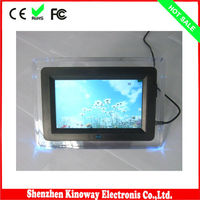 2014 hot selling 7 inch hd sex digital photo frame video free download