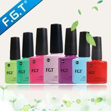 FGT High Quality 3 steps uv/led gel polish for 2015 new fashion nails art