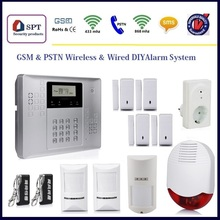 gsm personal alarm, gsm wireless home security alarm system, alarm set