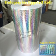 Popular 3D Holographic Destructible Vinyl Paper for Printing Eggshell Stickers Custom with Design