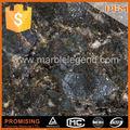 Encimeras de granito beis pulido, mariposas, de fábrica