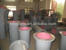 Abrasion Resist Ceramic Seamless Carbon Steel Pipeline