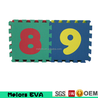 Melors Alphabet & Numbers Soft kid foam play mats wholesale/eva foam interlocking floor mats