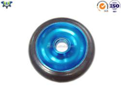 OEM high quality metal alloy black chrome alloy wheels