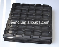 ESD Electronic Component Black Blister Tray
