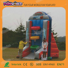 2014 new products portable basketball shelf inflatable game