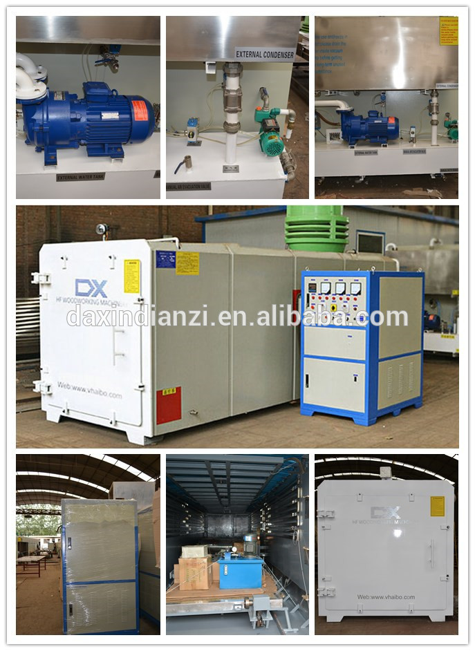 High frequency vacuum wood dryer  main parts