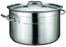 cheap price stainless steel stock pot for hot pot restaurant equipment