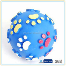 Custom claws with Squeaker dog training toy ball