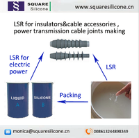 lsr liquid silicone rubber for cable terminators switch gear making
