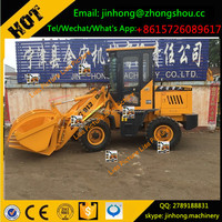 wheel loader with grapper low price high quality