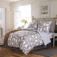 100% cotton hot selling shipping free for Russian floral double duvet cover sets