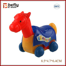 Wholesale Pull back horse cheap shantou toys from china
