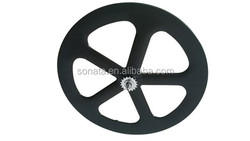 chinese road bike wheels carbon fiber 5 spoke wheels bici.da.corsa cheap fixed bike rear wheelset