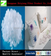 Dongguan Hollow Conjugated polyester Staple Fiber Filler For Pillow/Toys/Cushion
