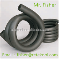 Retekool NBR/PVC rubber foam heat insulation tube/pipe for HVAC