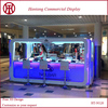 2015 Hot sale 15x10 feet modern nail bar kiosk manicure service store kiosk for mall