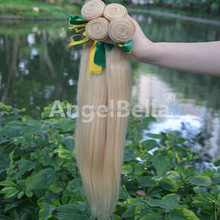 Anglebella 613 Blonde Hair Weave Wholesale Straight Hair Honey Blonde Brazilian Hair Weave