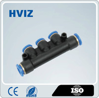 the high quality plastic quick connect pneumatic fittings of reduced five way pipe fitting/HPKG