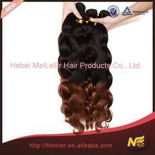 hair weft sewing machine/micro thin weft hair extension/ombre color human hair weft