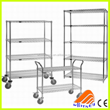 Industrial Chrome Wire Racks,High Quality Light Duty Shelving, chrome wire toast rack