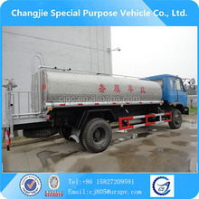 water delivery truck in case of emergency