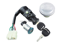 Hot sale good quality motorcycle lock set for C125 BIZ BRAZIL/ tank cap/ motorcycle ignition switch