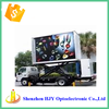 high definition P6 outdoor mobile led display trailer