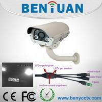 CCD thermal camera industrial,cctv surveillance camera,700tvl ir car license plate capture camera