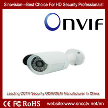 Low Streams High Resolution CCTV P2P 1080P 2.0MP Outdoor IP Camera