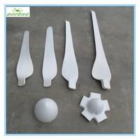 China manufacturer plastic propeller blade fiberglass windmill blades
