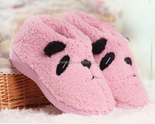cheap and warm cute winter indoor slippers boots gel insole slippers