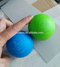 Brand new ncaa approved lacrosse ball with logo stamped made in China