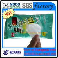 Parallel Lapping Hangmin Spunlace Nonwoven Fabric for adult wet wipes