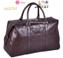 New Arrival Excellent Craft Cow Leather Duffel Bag Men