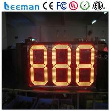 programmable led moving signs led gas price sign digital display count up timer