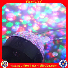 Bluetooth speaker suction cup with led light Stage mini waterproof bluetooth speaker suction cup